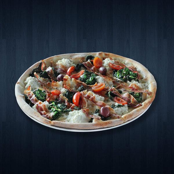 Spinaci e pancetta